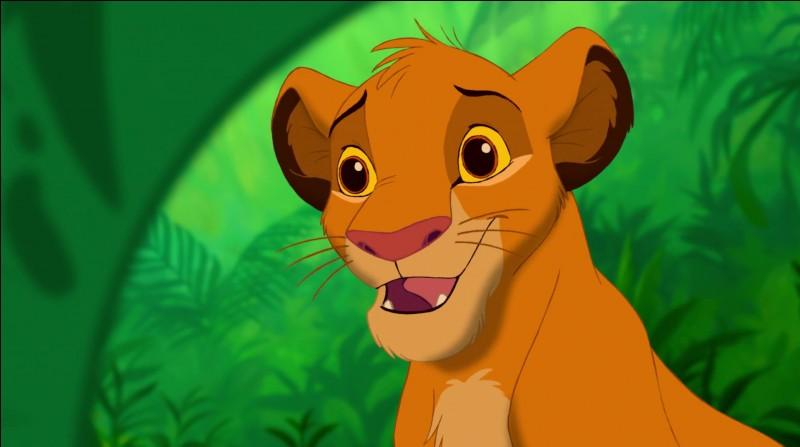Qui est ce jeune lionceau ?