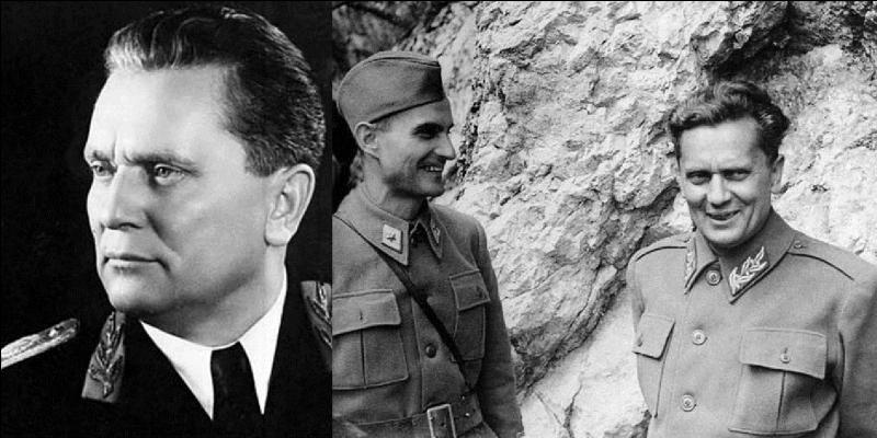 Allons en Yougoslavie ! C'est le dirigent historique de ce pays et le seul. Sa mort signera la fin de cet état sous cette forme. C'est aussi le chef de la résistance de ce pays. Qui est-il ?