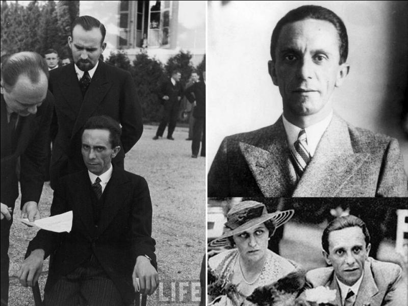Allons en Allemagne ! C'est un docteur en philosophie. Egalement, il deviendra journaliste. Il sera un des proches d'Hitler et s'occupera, entre autres, de « l'éducation » de la population. Il s'engagea dans le Parti nazi en 1922. Qui est-il ?
