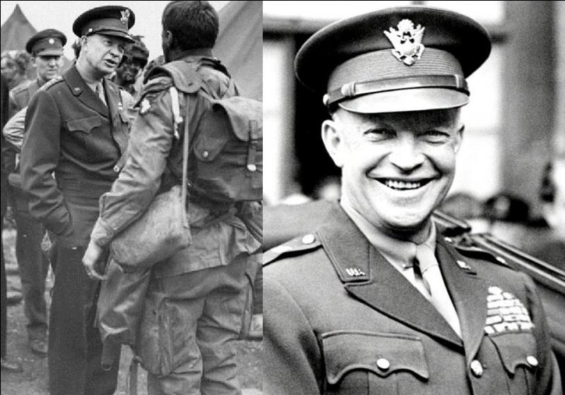 Allons aux Etats-Unis ! Cet officier est considéré comme un des meilleurs organisateurs militaires de la 2e Guerre mondiale, résultat on lui confia l'organisation et le commandement du plus important débarquement de ce conflit et des armées alliées sur le front occidental. Qui est-il ?
