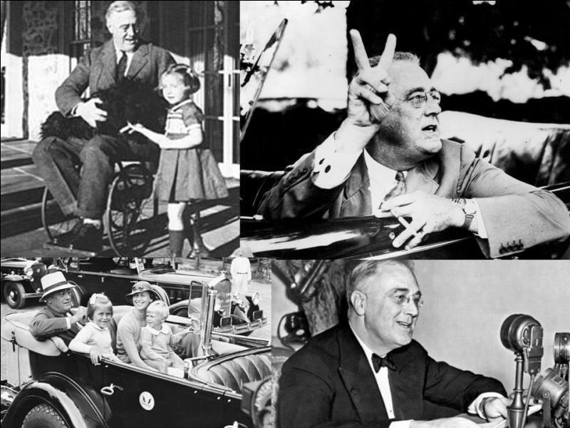 Restons aux USA ! Cette personne a été élu 4 fois à son poste. Il n'a pu effectuer son 4e mandat. Il a reconnu tardivement le général de Gaulle comme chef de la France libre, le considérant comme un futur dictateur. Qui est-il ?