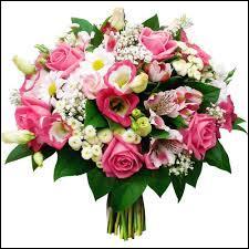 Jean et Marie amènent ...... bouquets de fleurs.