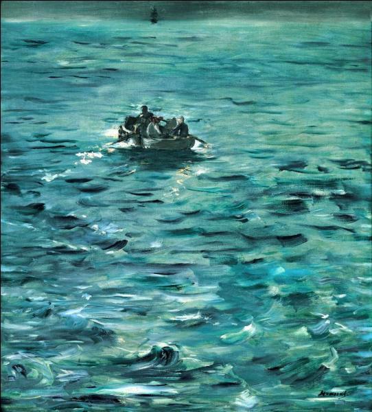 """Pour finir, qui de Manet ou Monet a peint en 1881 """"L'Evasion de Rochefort"""" ?"""