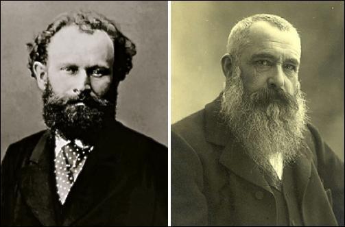 Entre Manet et Monet il existe huit ans d'écart ; l'un est né en 1832 et l'autre en 1840. Parmi ces deux peintres lequel est le plus jeune ?