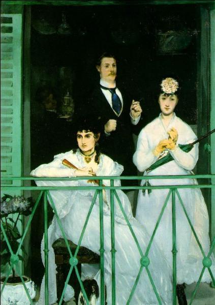 """Qui de Manet ou Monet a peint en 1869 """"Le Balcon"""" ?"""