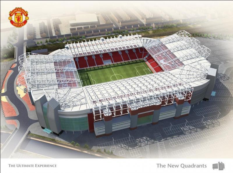 Stade de Manchester United. Quel est mon nom ?