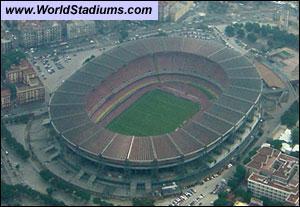 Stade de Naples. Quel est mon nom ?
