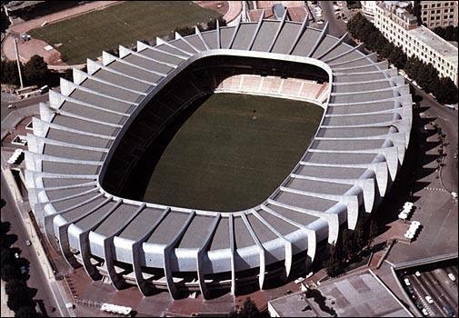 Le nom des stades