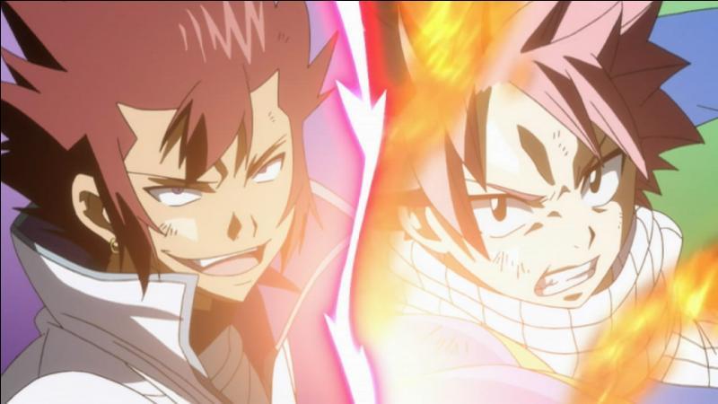 Cobra et Natsu :