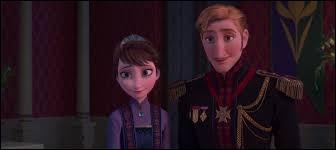 Pourquoi ne voit-on les parents d'Elsa et Anna qu'une petite partie ?