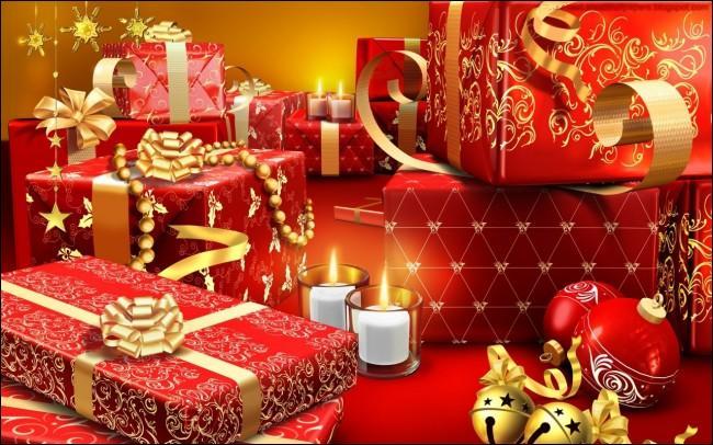 Mon premier vient juste après le J. Mon deuxième est la première note de la gamme. Mon tout est ce qui se trouve sous l'arbre de Noël.