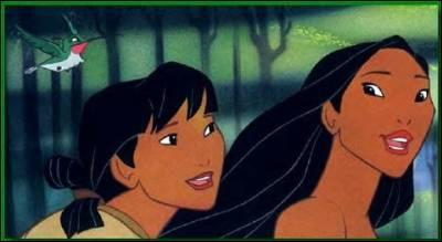Quel est le nom de la meilleure amie de Pocahontas ?
