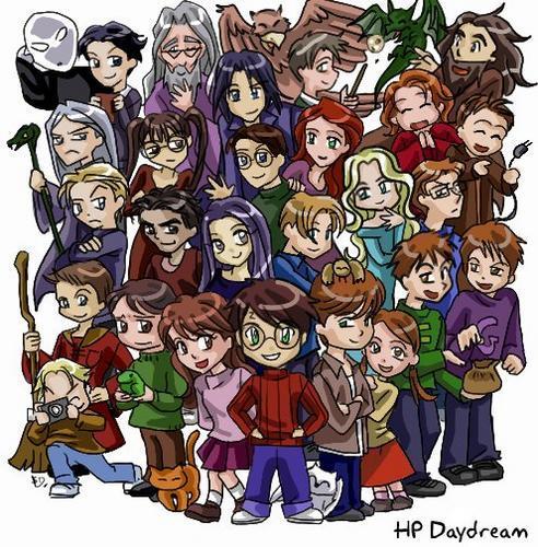 La saga Harry Potter