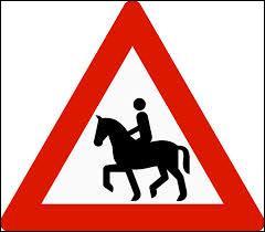 Dans un manège, la distance de sécurité à respecter correspond à la longueur ...