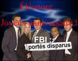 """Dans le tout premier épisode de la série policière """"FBI : portés disparus"""", quel agent fait son entrée ?"""