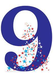 Le chiffre/nombre 9