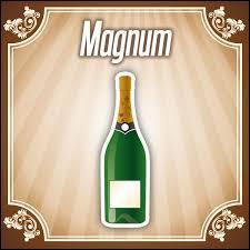 Un magnum peut contenir :