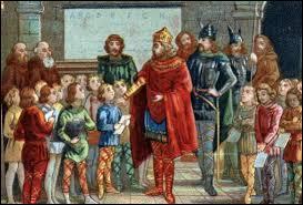 A quel établissement public, l'imagerie populaire associe-t-elle le personnage de Charlemagne ?
