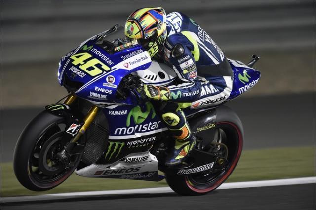 Quelle est la marque de la moto de Valentino Rossi ?