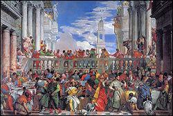 Qui a peint ' Les Noces de Cana ' pendant l'année 1562