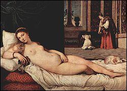 Qui a peint ' la Vénus d'Urbin '