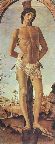 Lequel de ces artistes réalisa ' Le Martyre de saint Sébastien '