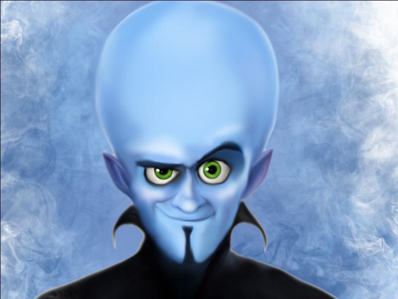 Ce personnage a la peau bleue, le regard diabolique, le crâne chauve et le visage plus gros que la moyenne, nous avons devant nous un personnage du film :