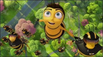 Cette image est tirée du dessin animé qui nous fait prendre conscience de l'importance des abeilles. Je parle de :