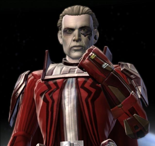 Quel célèbre Sith fut borgne ?