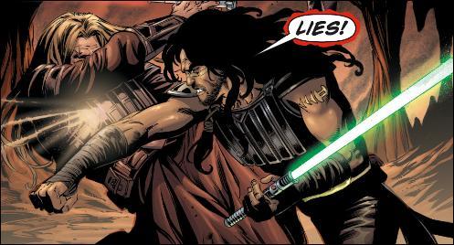 Qui remporta le duel opposant Quinlan Vos à Tol Skorr ?