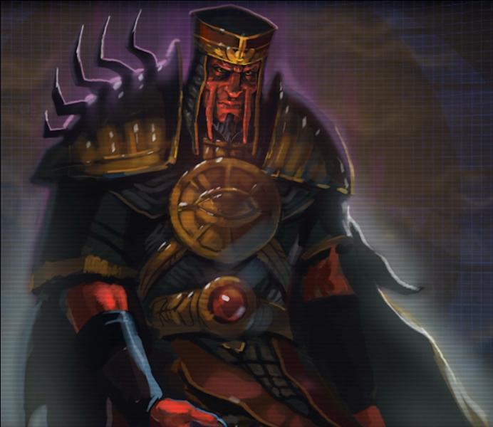 Qui fut le rival de Naga Sadow ?
