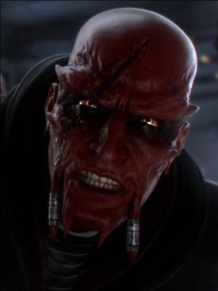 De quelle espèce était Vindican, le maître de Dark Malgus ?