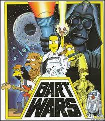 Que parodient les Simpson sur cette image ?