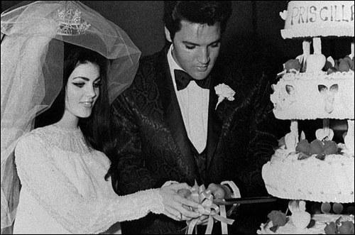 Quel est le nom de jeune fille de la femme avec qui Elvis s'est marié en 1967 ?
