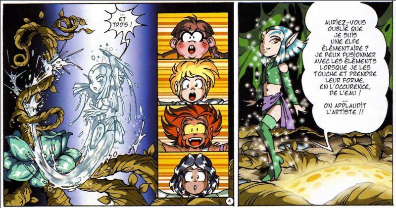 Shimy est une elfe élémentaire, ce qui veut dire qu'elle...