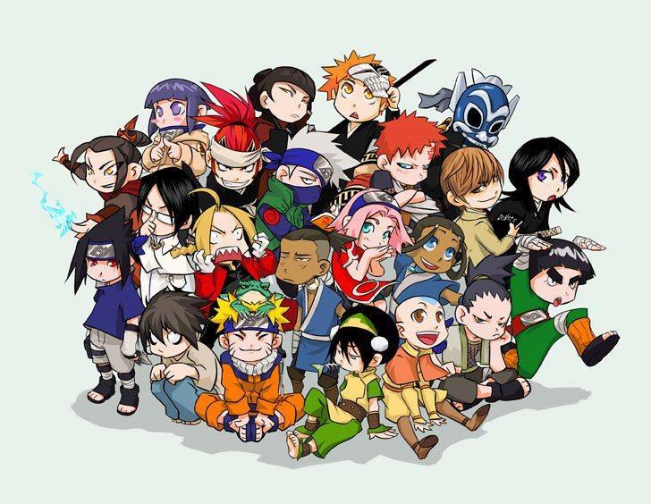 Personnages d'animes et de mangas (3)
