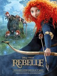 Walt Disney - 'Rebelle'