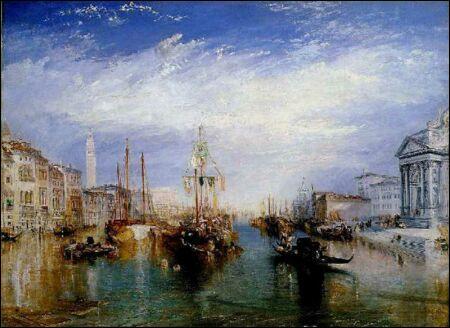 Qui a peint Le grand canal à Venise ?