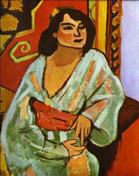 Qui a peint L'algérienne ?