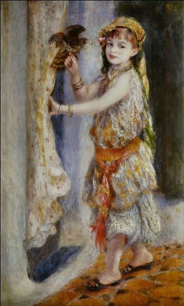 Qui a peint La fillette au faucon ?