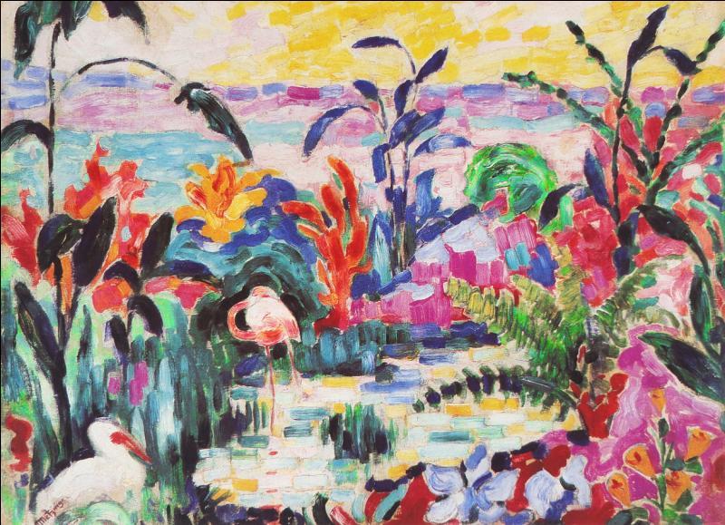 Qui a peint Les ibis ?