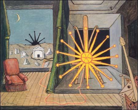 Qui a peint Soleil sur le chevalet ?