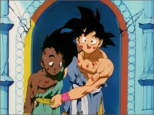 "Complète la phrase de Goku : ""Ne sois pas stressé sinon tu ne pourras pas …"""