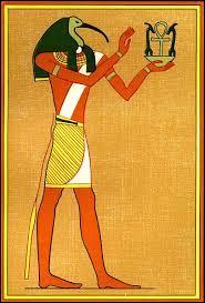 Quel animal représente la tête du dieu égyptien Thot ?
