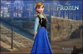 Au début, Anna a été touchée :