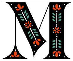 La treizième lettre de l'alphabet est le M.