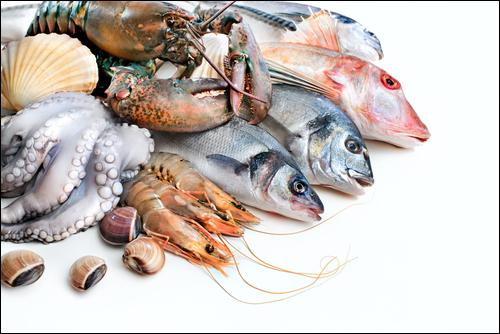 Quelle est la région spécialisée en fruits de mer, en alcools et en pommes ?