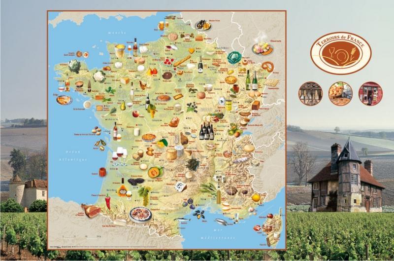 Les spécialités régionales de France