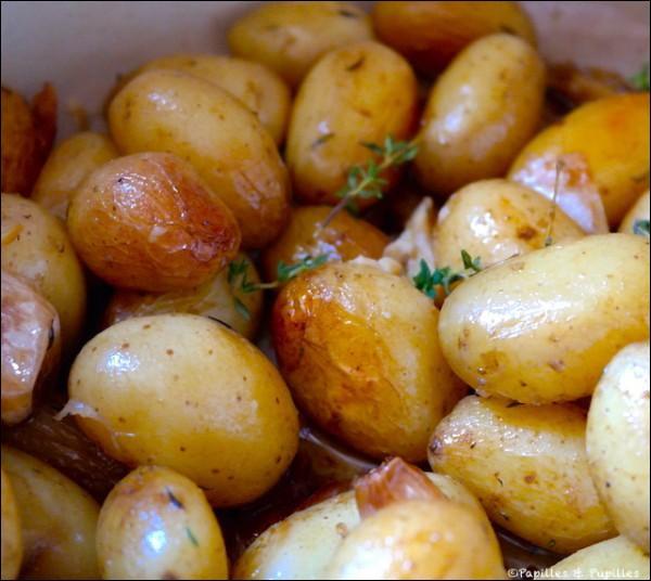 Il existe plusieurs variétés de pommes de terre nouvelles dont la grenaille.Leur calibre doit être inférieur :