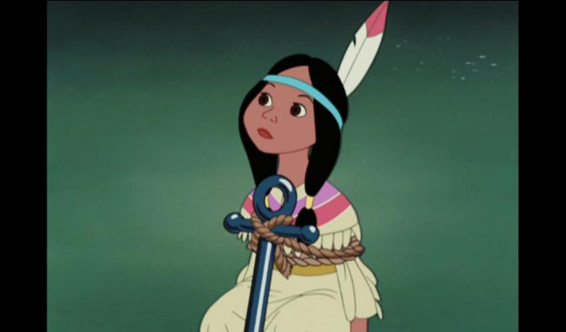 Lili la tigresse est la fille du grand chef indien, elle a un ami sur qui elle peut compter !